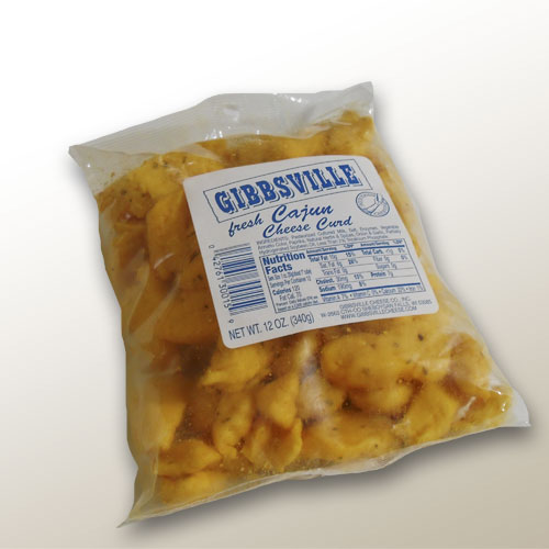 Gibbsville Cajun Flavored Cheese Curds